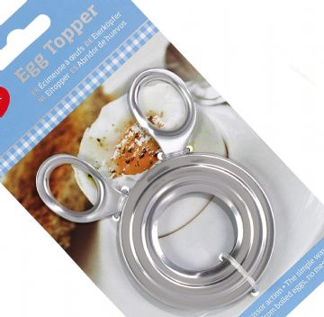 Boiled Egg Shell Topper Scissors Stainless Steel Cutter Cracker